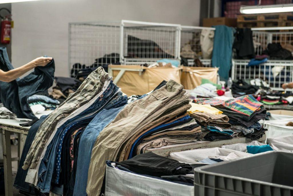 selezione degli indumenti